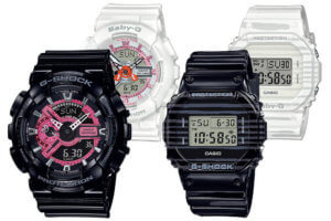 G-Shock and Baby-G SLV-19A-1A SLV-19B-1 Special Pairs Colletion