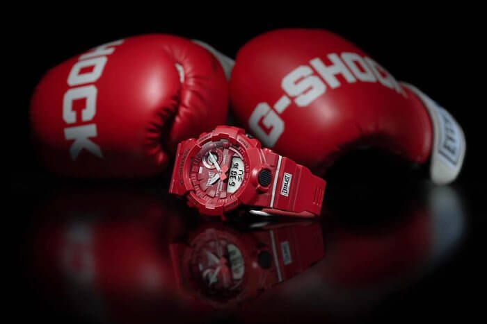 G-Shock x Everlast Boxing Gloves