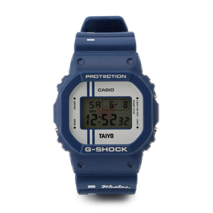 Yokohama Taiyo Whales x G-Shock DW-5600 2019 Collaboration Watch