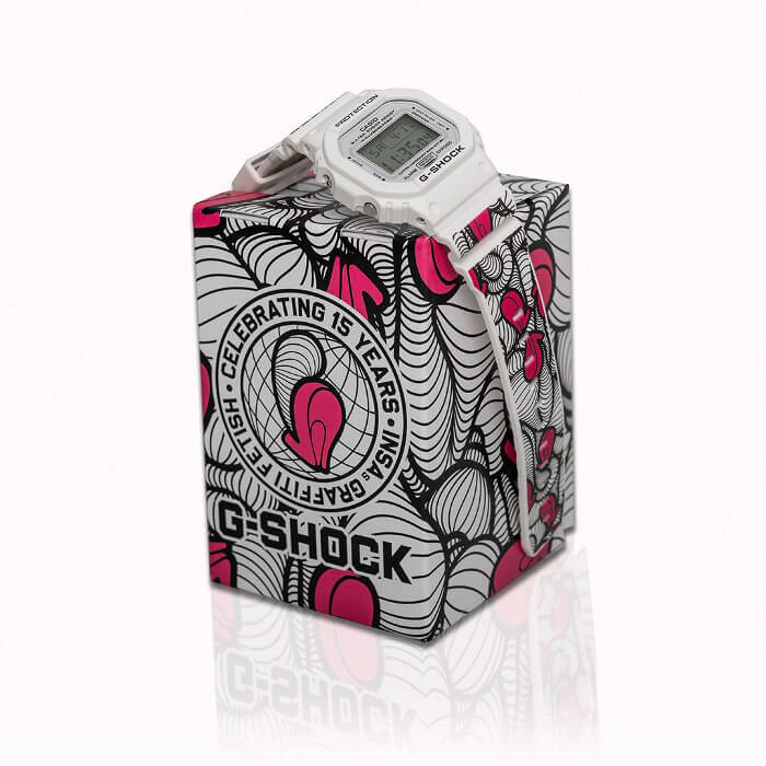 INSA x G-Shock DW-5600MW-7INSA London Collaboration – G-Central G-Shock Watch Fan Blog