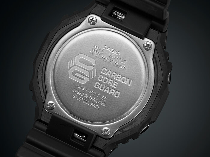 G-Shock GA-2100 Case Back
