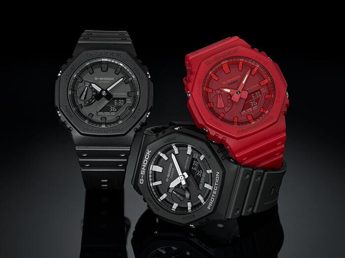 G-Shock GA-2100 Retro-Style Ana-Digi with Carbon Core Guard – G-Central G-Shock Watch Fan Blog