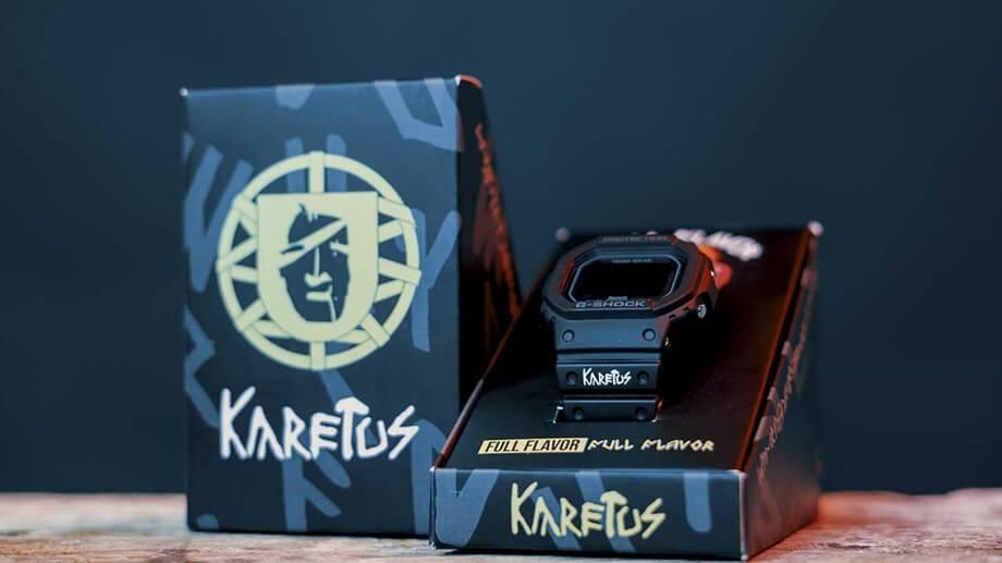 Karetus x G-Shock GW-B5600KARETUS-2AER Full Flavor Package