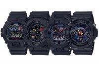 G-Shock Black x Neon Series: DW-6900BMC-1JF GA-140BMC-1AJF GA-700BMC-1AJF GAW-100BMC-1AJF