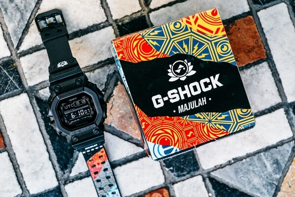 """We are Singapore"" National Day 2019 Sam Lo x G-Shock GX-56BB-DRSG54 Collaboration Watch"