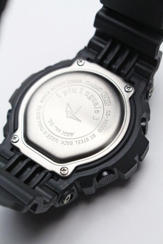 1PIU1UGUALE3 x G-Shock GD-X6900 Case Back