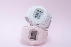 Baby-G BGD-570 White and Pink