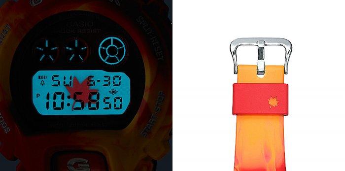 G-Shock DW-6900TAL-4 EL Backlight and Keeper