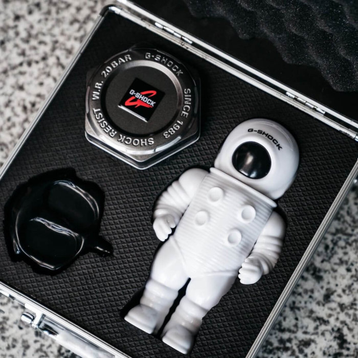Jahan Loh x G-Shock DW-5600 Box Set for Ion Orchard Collaboration 2019