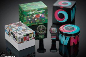 Gorillaz x G-Shock 2nd Collaboration 2019: GA-2000GZ-3A & GW-B5600GZ-1