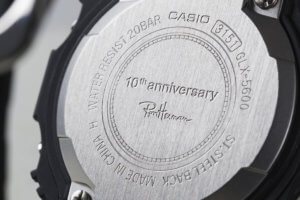 G-Shock GLX-5600 x Ron Herman Japan 10th Anniversary Case Back