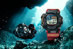 G-Shock Frogman GWF-D1000ARR-1 x Antarctic Research ROV