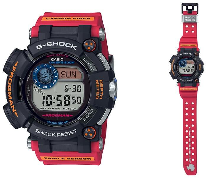 G-Shock Frogman GWF-D1000ARR-1JR x Antarctic Research ROV
