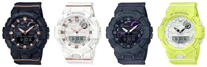 G-Shock G-SQUAD GMA-B800 with Step Tracker