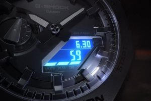 G-Shock GA-2100 LED Backlight