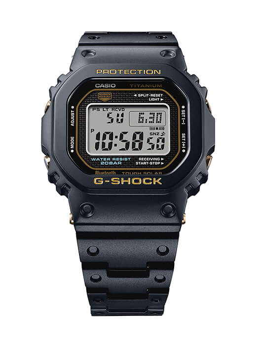 G-Shock GMW-B5000TB Titanium with Sapphire Origin Tribute