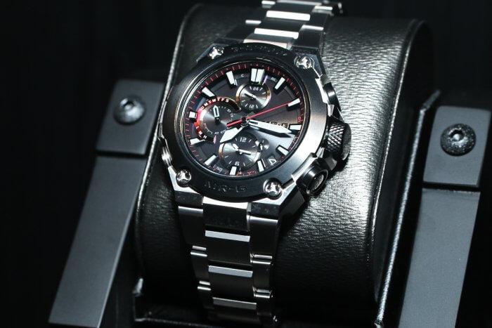 G-Shock MRG-B1000D-1A Titanium with DLC Bezel