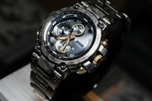 G-Shock MTG-B1000DCM-1A with Metal Camouflage Pattern