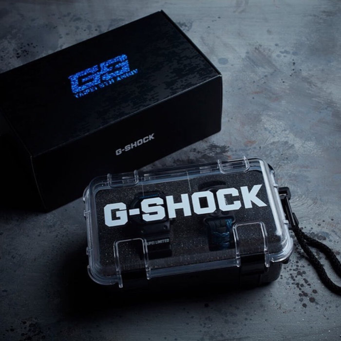 G-Shock Store Taipei 5th Anniversary DW-5600BBMGT5 Box and Case
