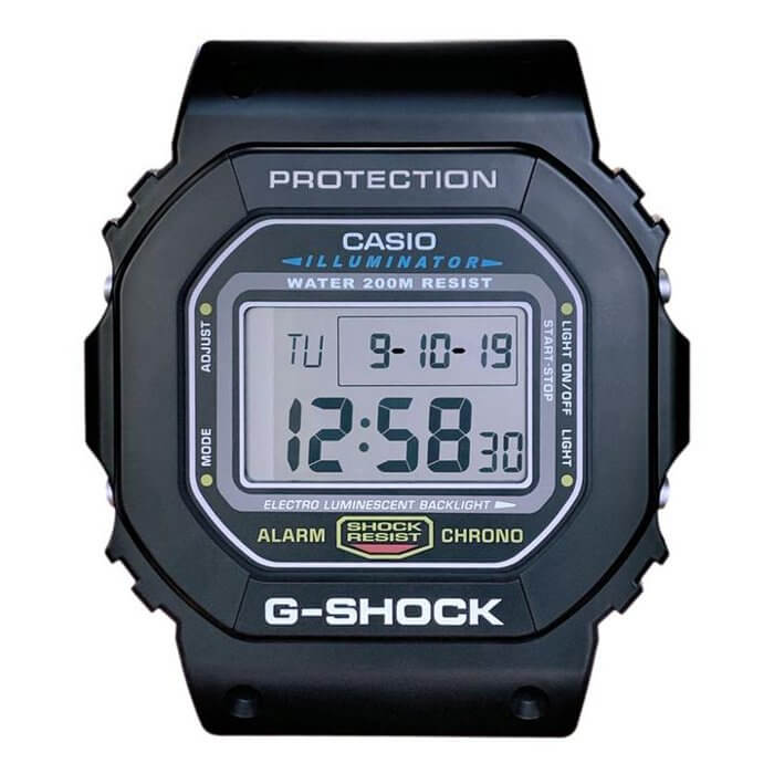 G-Shock DW-5600 Wall Clock