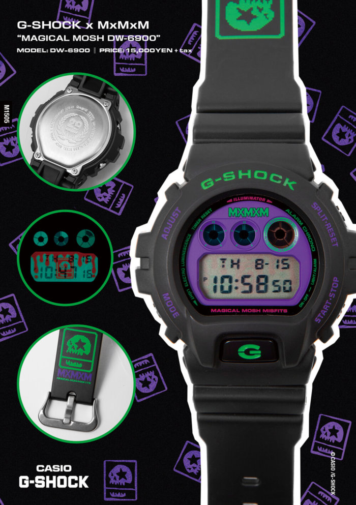 "G-SHOCK x MxMxM ""MAGICAL MOSH DW-6900"""