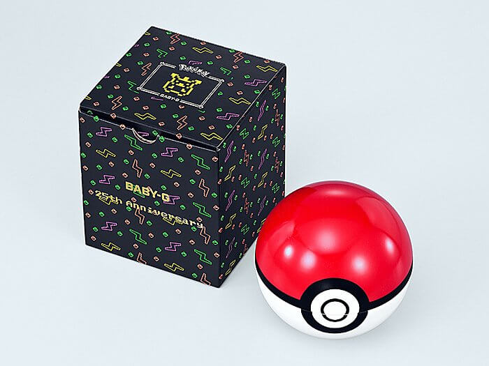 Pokémon x Baby-G BGD-560PKC-1 Box and Poké Ball Case
