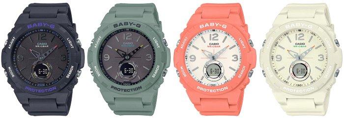 Baby-G-BGA-260 BGA-260-1A BGA-260-3A BGA-260-4A BGA-260-7A