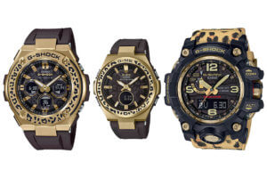 G-Shock & Baby-G Wildlife Promising Leopard Editions for Love The Sea And The Earth 2019 Winter