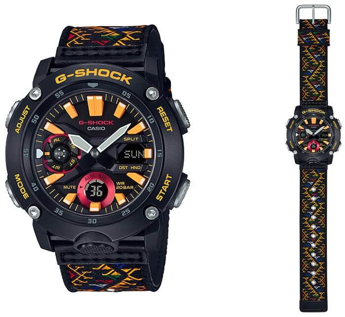 G-Shock GA-2000BT-1A Bhutan Kingdom