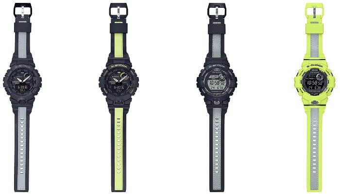 G-Shock G-SQUAD Reflective Band GBA-800LU-1A GBA-800LU-1A1 GBD-800LU-1