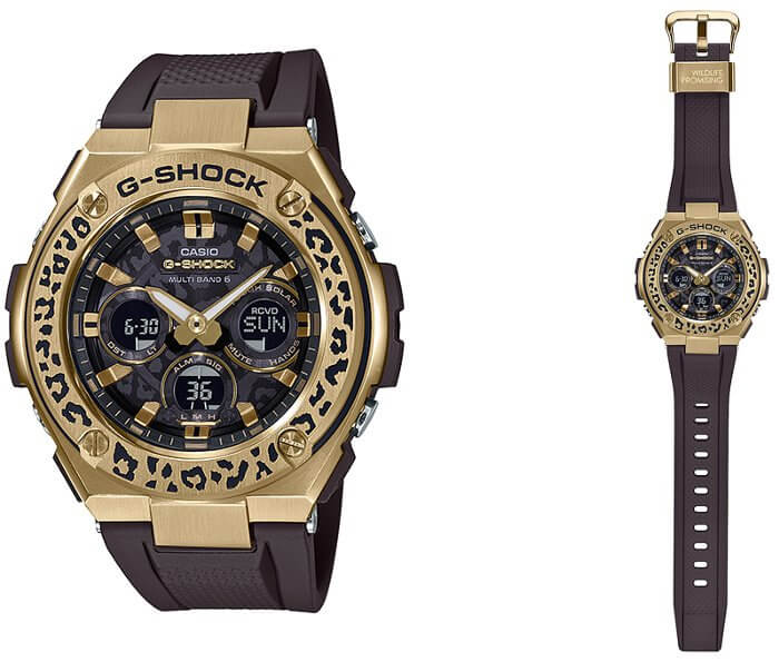 G-Shock GST-W310WLP-1A9JR Wildlife Promising Leopard Love The Sea And The Earth 2019 Winter