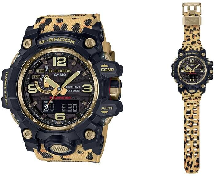 G-Shock GWG-1000WLP-1AJR Wildlife Promising Leopard Love The Sea And The Earth 2019 Winter