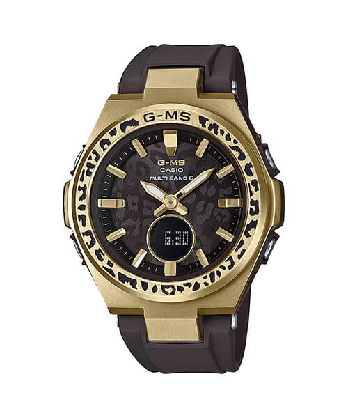 G-Shock MSG-W200WLP-5A Wildlife Promising Leopard Love The Sea And The Earth 2019 Winter