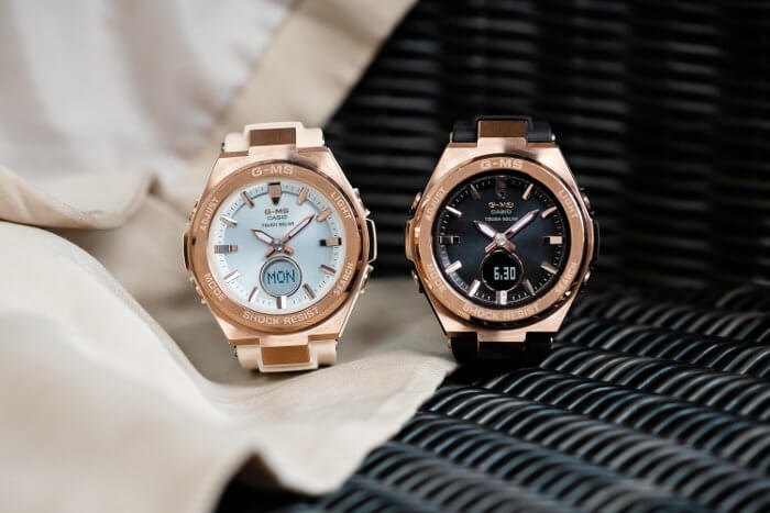 G-Shock MSGS200G-4A and MSGS200G-5A for Women