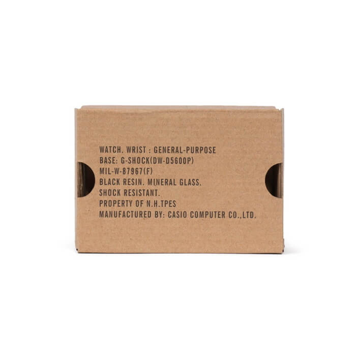 N. Hoolywood x G-Shock DW-D5600P-NH 2019 Box