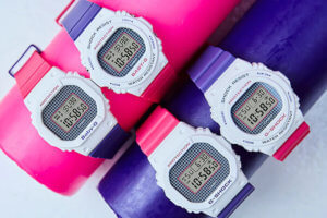 G-Shock & Baby-G Purple-Pink Throwback 1990s Series