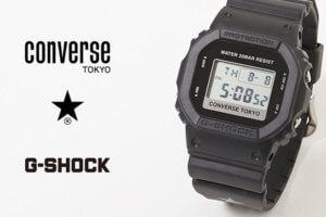 Converse Tokyo x G-Shock DW-5600 Collaboration Watch