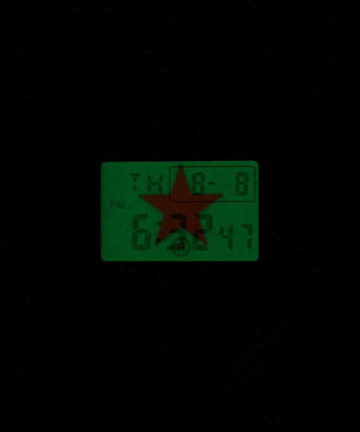 Converse Tokyo x G-Shock DW-5600 EL Backlight
