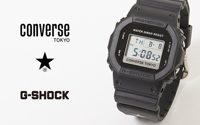 Converse Tokyo x G-Shock DW-5600 Collaboration – G-Central G-Shock Watch Fan Blog