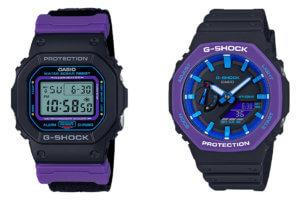 G-Shock DW-5600THS-1 & GA-2100THS-1A Sporty Throwback