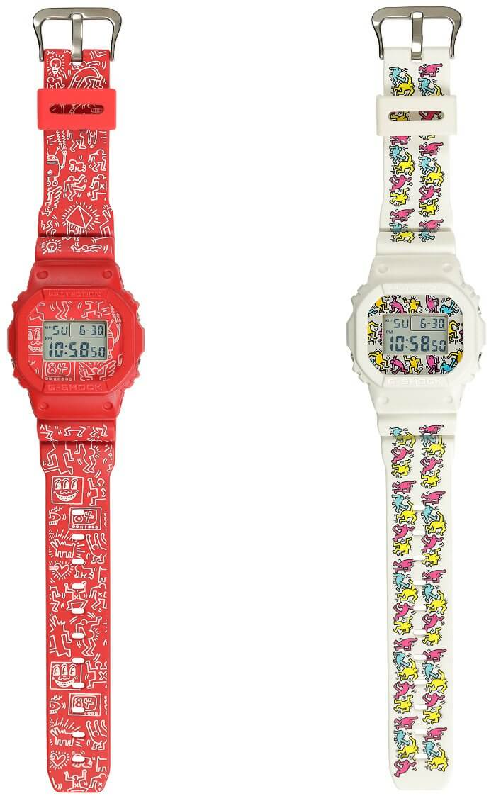 Keith Haring x G-Shock DW-5600 Bands