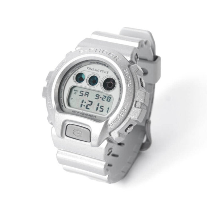 Kinashi Cycle x G-Shock DW-6900 for 2019