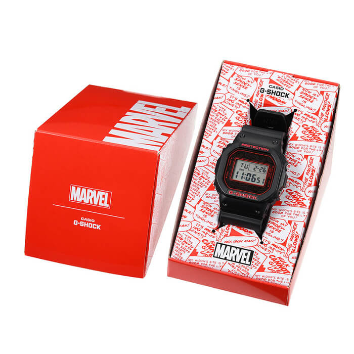 Marvel x G-Shock DW-5600 Box