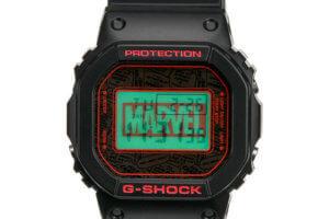 Marvel x G-Shock DW-5600 2019 EL Backlight