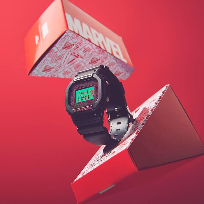 Marvel x G-Shock DW-5600 to go on sale in Japan – G-Central G-Shock Watch Fan Blog