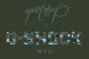 Yoon Hyup x G-Shock New York City Collaboration