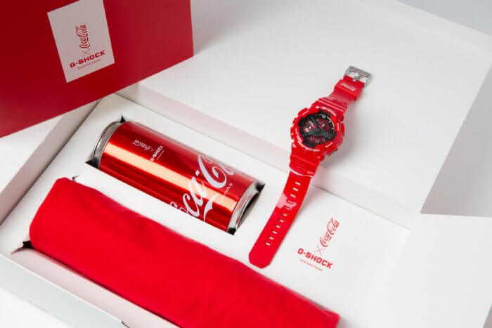 Coca-Cola x G-Shock GA-110COCA19-4PRC Box Set