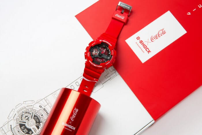 Coca-Cola x G-Shock GA-110COCA19-4PRC for China 2019