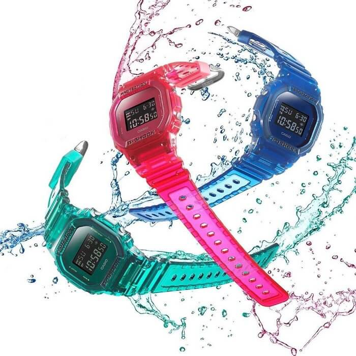 G-Shock DW-5600SB Color Skeleton Series