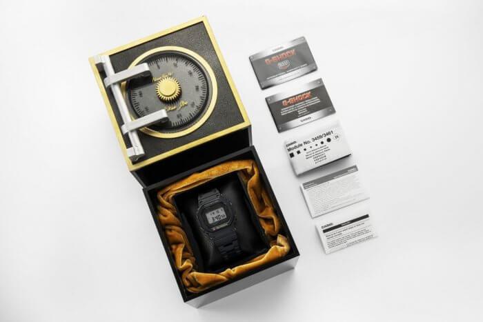 G-Shock GMW-B5000TB-1 Kikuo Ibe Box in Singapore